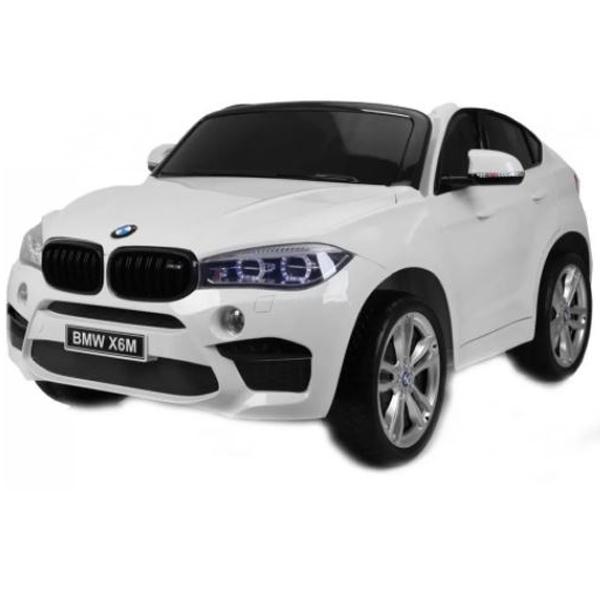 Auto na akumulator BMW X6 12V dvosed beli 146999 - ODDO igračke
