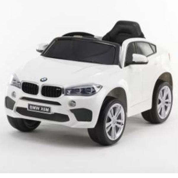 Auto na akumulator BMW X6 beli 146944 - ODDO igračke