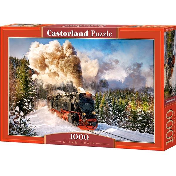 Castorland puzzla 1000 pcs Steam Train 103409 - ODDO igračke