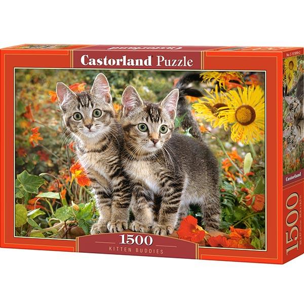 Castorland puzzla 1500 pcs Kitten buddies 151899 - ODDO igračke