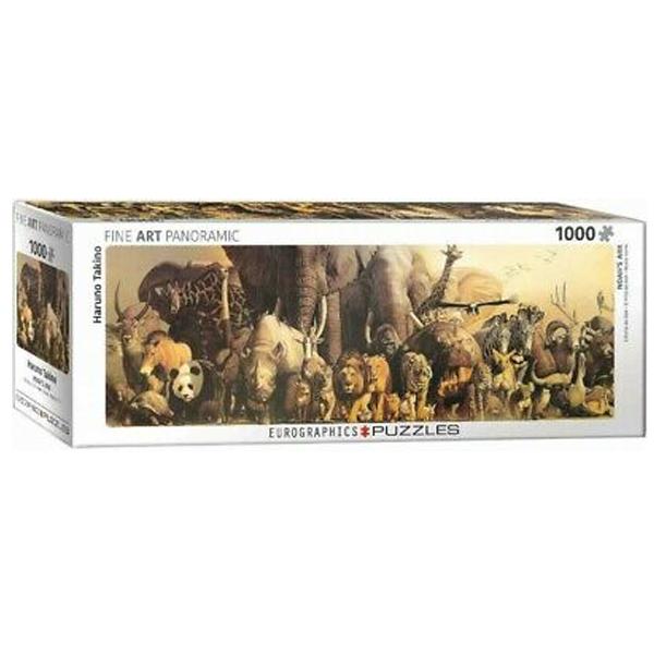 Eurographics Panoramic Noah's Ark by Haruo Takino 1000-Piece Puzzle 6010-4654 - ODDO igračke