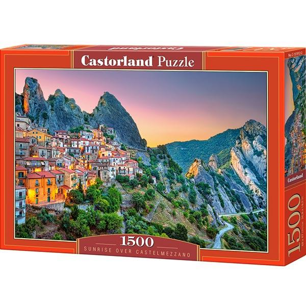 Castorland puzzla 1500 pcs Sunrise over Castelmezzano 151912 - ODDO igračke