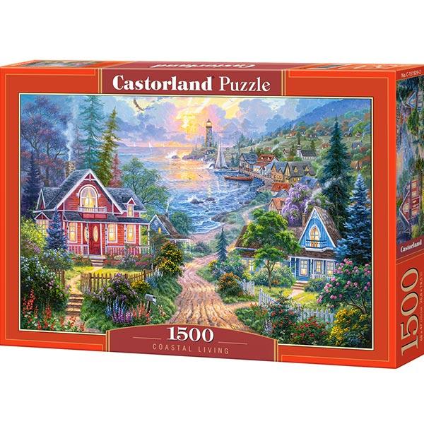 Castorland puzzla 1500 pcs Coastal Living 151929 - ODDO igračke