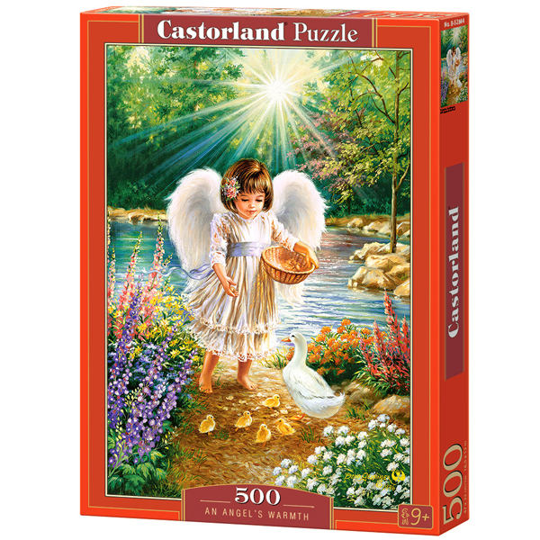 Castorland puzzla 500 Pcs An Angels Warmth 52844 - ODDO igračke
