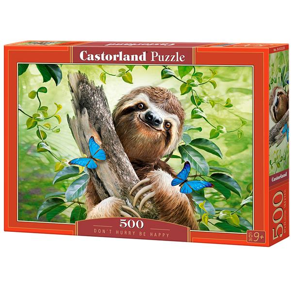 Castorland puzzla 500 Pcs Dont Hurry Be Happy 53223 - ODDO igračke