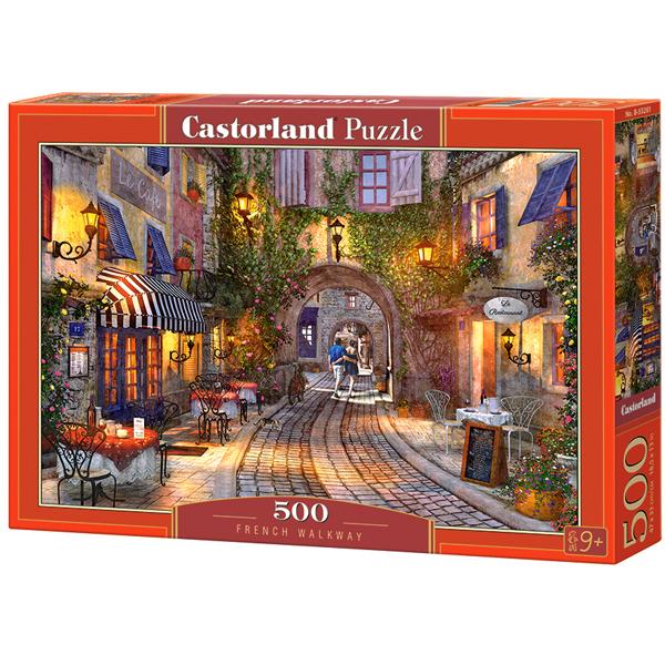 Castorland puzzla 500 Pcs French Walkway 53261 - ODDO igračke