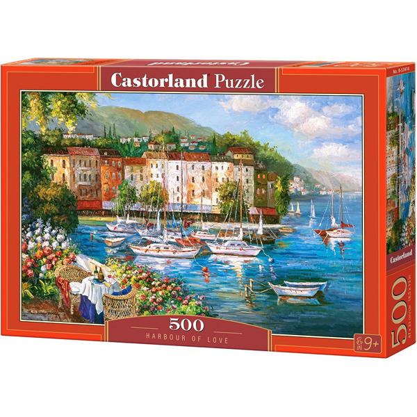 Castorland puzzla 500 Pcs Harbour of Love 53414 - ODDO igračke