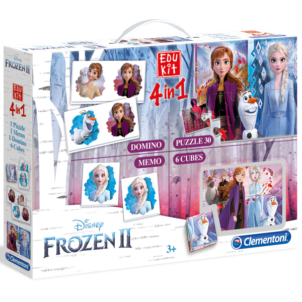Clementoni Edu Kit 4in1 Frozen 18059 - ODDO igračke