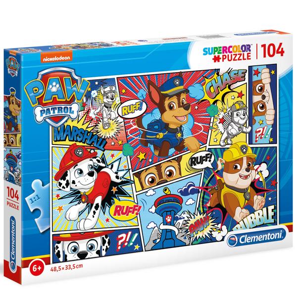 Clementoni puzzla 104pcs Paw Patrol 27261 - ODDO igračke