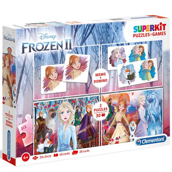Clementoni Superkit Disney Frozen 2 - 2x30 pcs 20241 - ODDO igračke