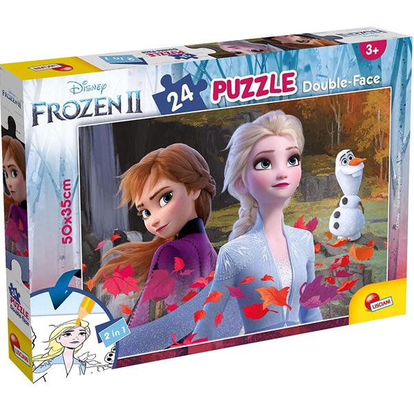 Slagalica Lisciani 24pcs Frozen 2u1 složi i oboji 81295 - ODDO igračke