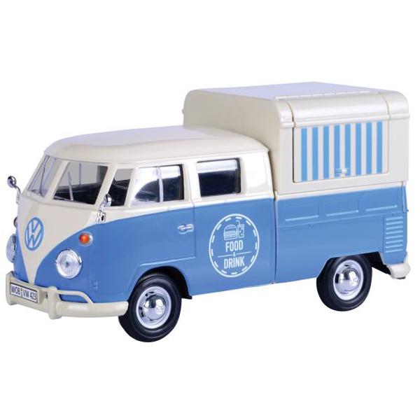 Metalni autić Motor Max 1:24 Volkswagen Food Truck 25/79576 - ODDO igračke