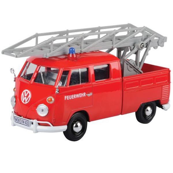 Metalni autić Motor Max 1:24 Volkswagen Fire Truck 25/79584 - ODDO igračke