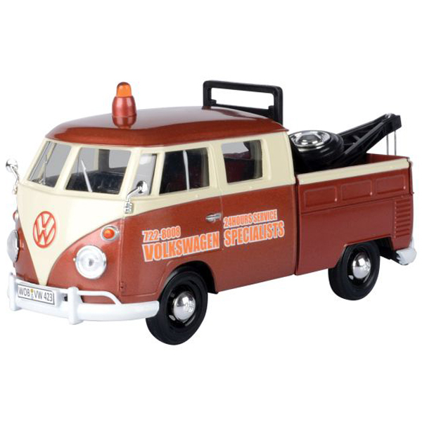 Metalni autić Motor Max 1:24 Volkswagen Tow Truck 25/79585 - ODDO igračke