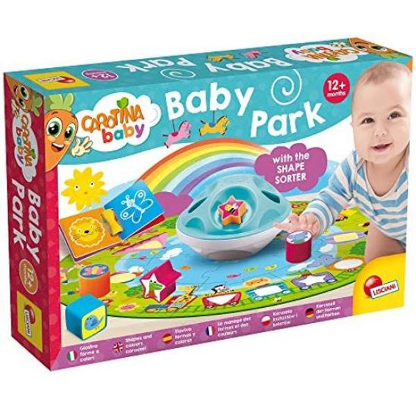 Carotina Edukativna igra Baby Park boje i oblici Lisciani 83992 - ODDO igračke