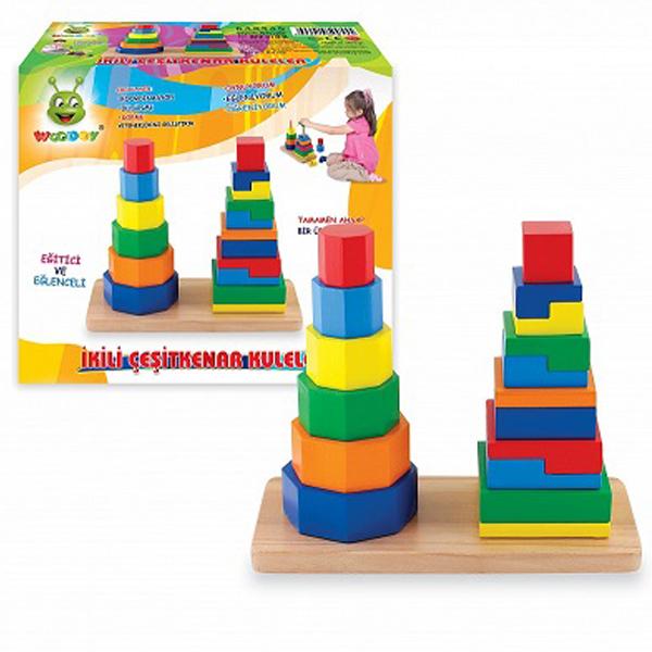 Slagalica drvena Woodoy 500555 - ODDO igračke