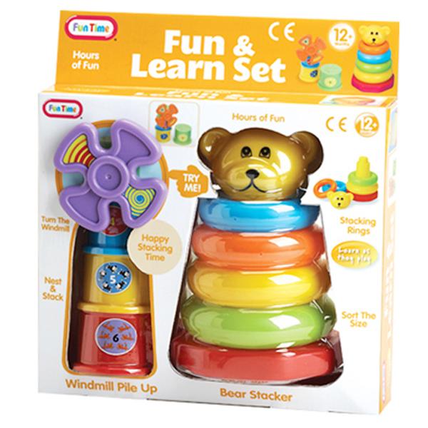 Meda duga i kupa vetrenjača Fun Time 05351 - ODDO igračke