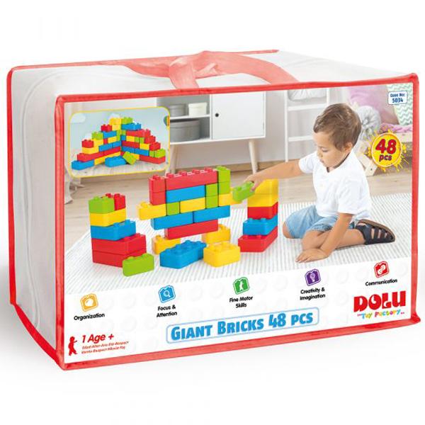 Kocke 48pcs Dolu 050342  - ODDO igračke