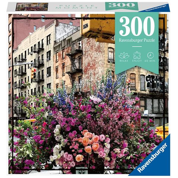 Ravensburger puzzle (slagalice) 300pcs Cveće u Njujorku RA12964 - ODDO igračke