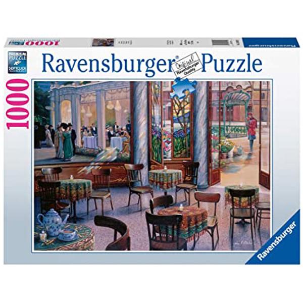 Ravensburger puzzle (slagalice) 1000pcs Cafe RA16449 - ODDO igračke