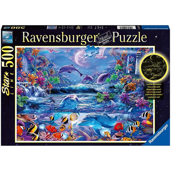 Ravensburger puzzle (slagalice) 500pcs Magična mesečina RA15047 - ODDO igračke