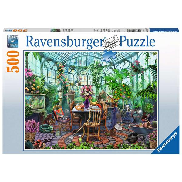 Ravensburger puzzle (slagalice) 500pcs Staklena bašta RA14832 - ODDO igračke