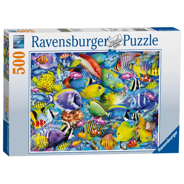 Ravensburger puzzle (slagalice) 500pcs Tropska stvorenja RA14796 - ODDO igračke