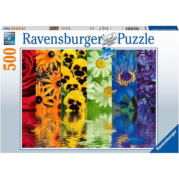 Ravensburger puzzle (slagalice) 500pcs Refleksija cveća RA16446 - ODDO igračke