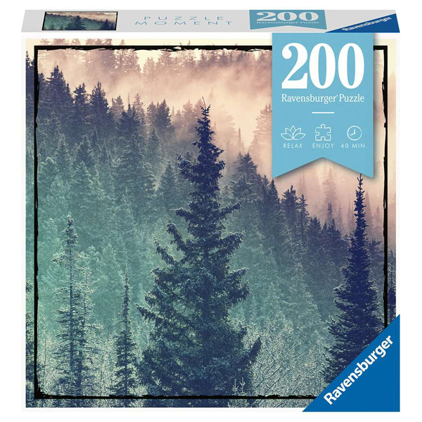 Ravensburger puzzle (slagalice) 200pcs Šuma RA12958 - ODDO igračke