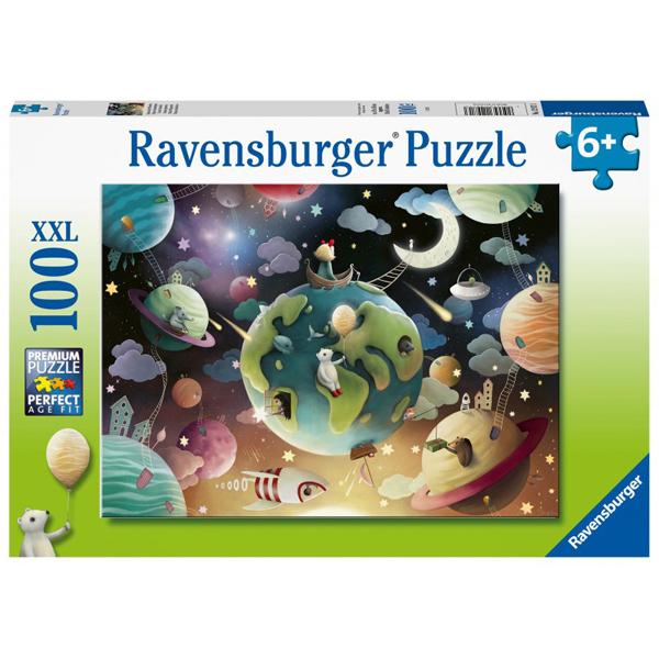Ravensburger puzzle (slagalice) 100XXL pcs Planete iz fantazije RA12971 - ODDO igračke
