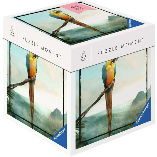 Ravensburger puzzle (slagalice) 99pcs Papagaj RA16539 - ODDO igračke