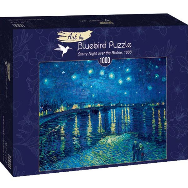 Bluebird puzzle 1000 pcs Vincent Van Gogh - Starry Night over the Rhone 60002 - ODDO igračke