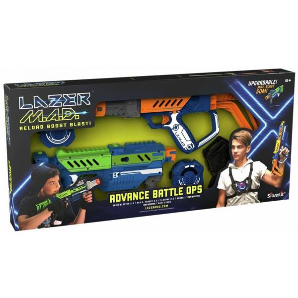 Lazer Mad Advance Battle Ops 2 pack 66x31x7cm 86848 - ODDO igračke