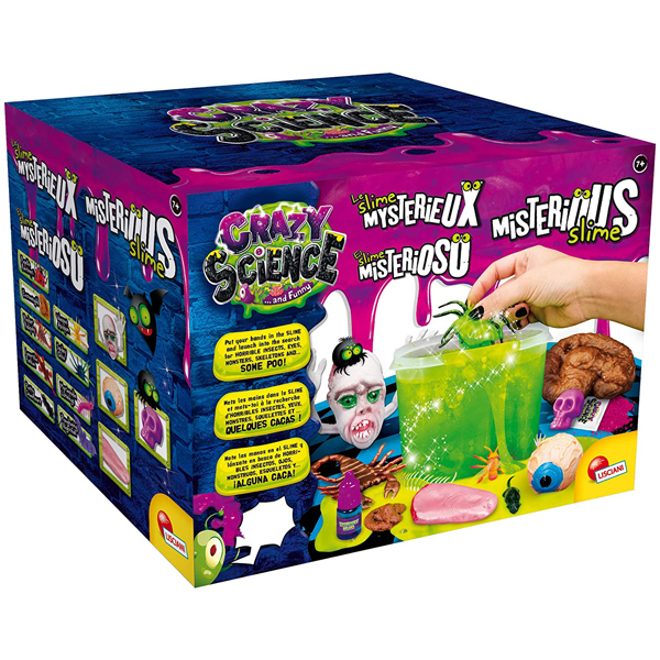 Crazy Science Mysterious Slime set Lisciani EX80656 - ODDO igračke