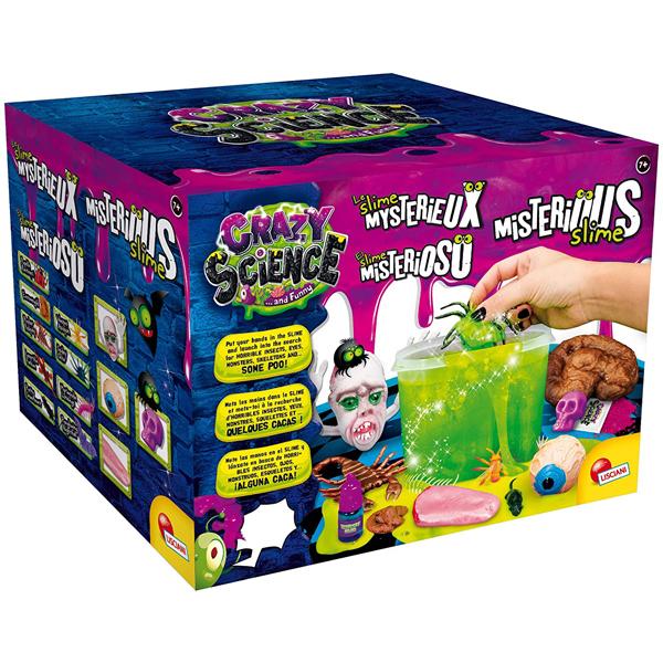 Crazy Science Mysterious Slime set Lisciani EX80656 - ODDO igračke