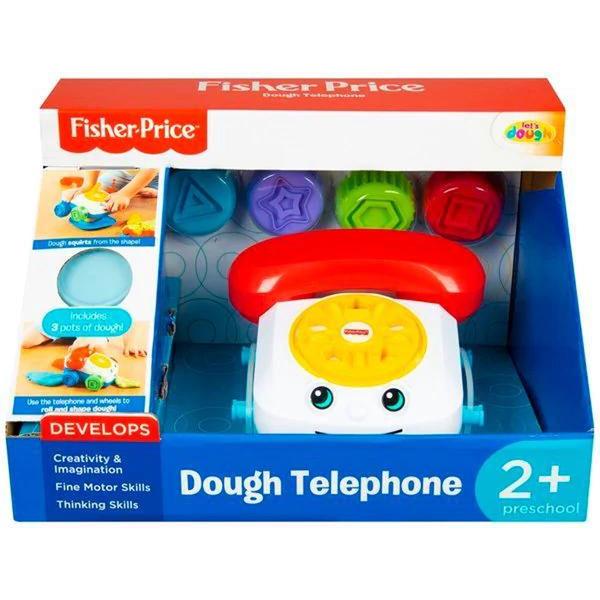 Fisher Price Edukativni set Telefon sa plastelinom FPR-4831 - ODDO igračke
