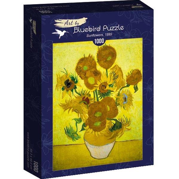 Bluebird puzzle 1000 pcs Vincent Van Gogh - Sunflowers 60003 - ODDO igračke