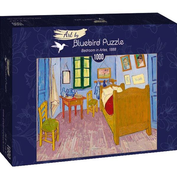 Bluebird puzzle 1000 pcs Vincent Van Gogh - Bedroom in Arles 60004 - ODDO igračke