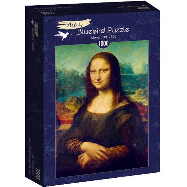 Bluebird puzzle 1000 pcs Leonardo Da Vinci - Mona Lisa 60008 - ODDO igračke