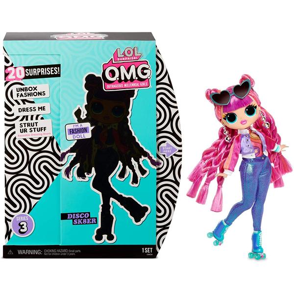 LOL Surprise OMG lutka Disco SC8ER 567196 - ODDO igračke