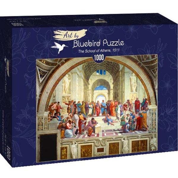 Bluebird puzzle 1000 pcs - Raphael - The School of Athens 60013 - ODDO igračke