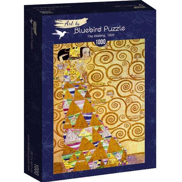 Bluebird puzzle 1000 pcs Gustave Klimt - The Waiting 60017 - ODDO igračke