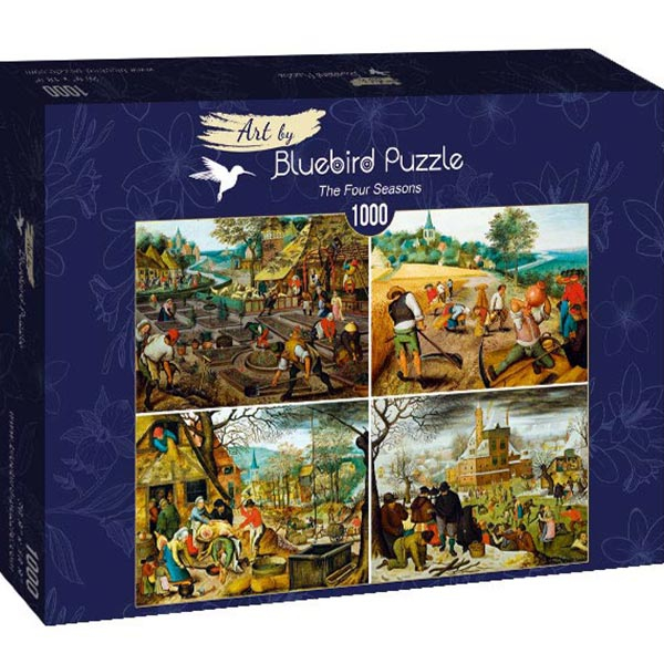 Bluebird puzzle 1000 pcs - Pieter Brueghel the Younger - The Four Seasons 60020 - ODDO igračke