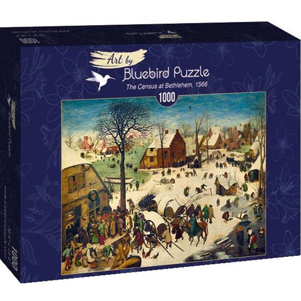 Bluebird puzzle 1000 pcs Pieter Bruegel the Elder - The Census at Bethlehem 60026 - ODDO igračke