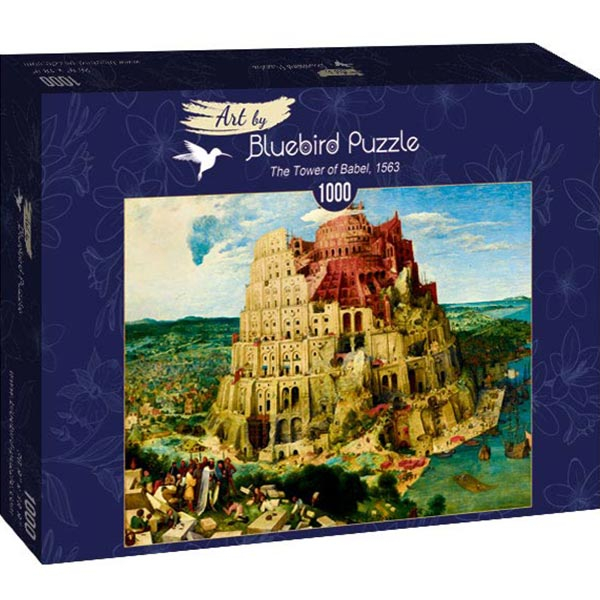 Bluebird puzzle 1000 pcs Pieter Bruegel the Elder - The Tower of Babel 60027 - ODDO igračke