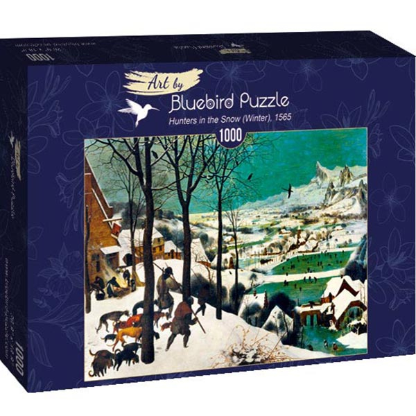 Bluebird puzzle 1000 pcs Pieter Bruegel the Elder - Hunters in the Snow (Winter) 60029 - ODDO igračke