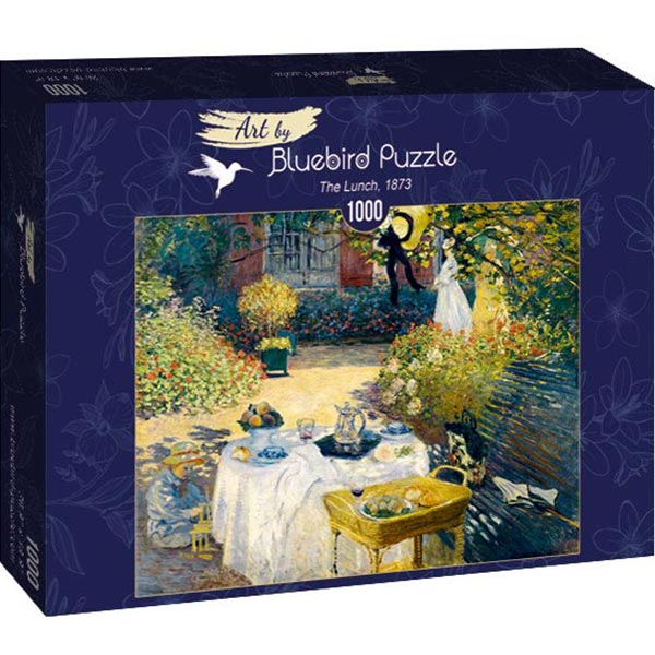Bluebird puzzle 1000 pcs Claude Monet - The Lunch 60040 - ODDO igračke