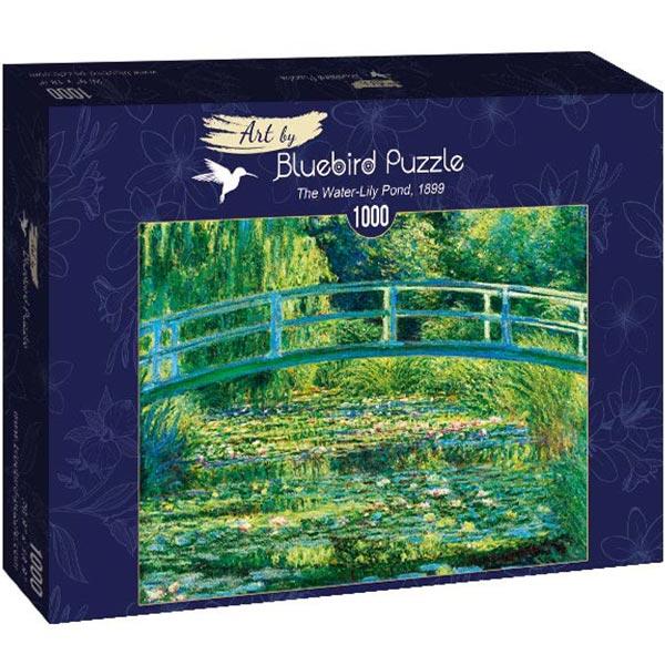 Bluebird puzzle 1000 pcs Claude Monet - The Water-Lily Pond 60043 - ODDO igračke
