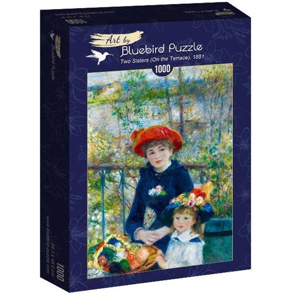 Bluebird puzzle 1000 pcs Renoir - Two Sisters (On the Terrace) 60050 - ODDO igračke