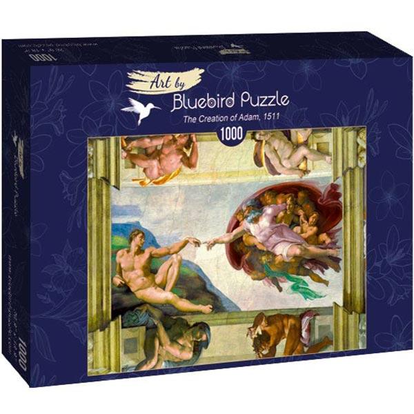 Bluebird puzzle 1000 pcs Michelangelo - The Creation of Adam 60053 - ODDO igračke